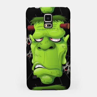 Thumbnail image of Frankenstein Ugly Portrait and Spiders Samsung Case, Live Heroes