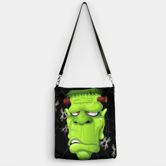 Thumbnail image of Frankenstein Ugly Portrait and Spiders Handbag, Live Heroes