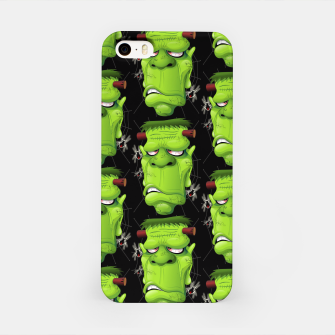 Thumbnail image of Frankenstein Ugly Portrait and Spiders iPhone Case, Live Heroes