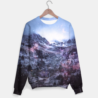 Thumbnail image of Stars in the Mountains Sweater, Live Heroes
