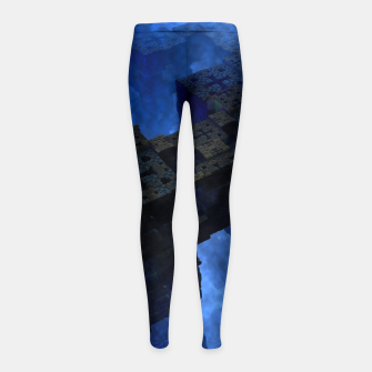 Thumbnail image of Stones Of Time Girl's Leggings, Live Heroes