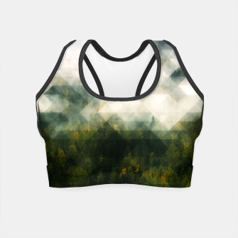 Thumbnail image of LowPoly Forest Crop Top, Live Heroes