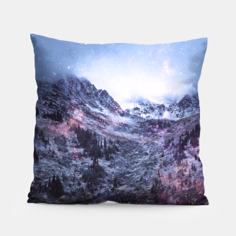 Thumbnail image of Stars in the Mountains Pillow, Live Heroes