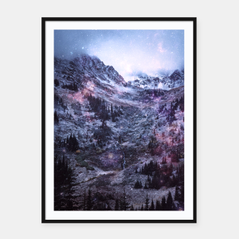 Imagen en miniatura de Stars in the Mountains Framed poster, Live Heroes
