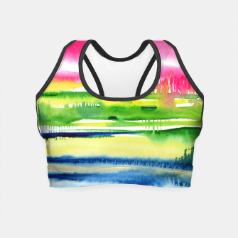 Thumbnail image of Abstract Crop Top, Live Heroes