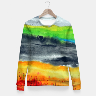Thumbnail image of Landscape Fitted Waist Sweater, Live Heroes