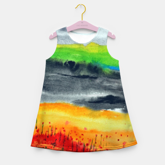 Thumbnail image of Landscape Girl's Summer Dress, Live Heroes