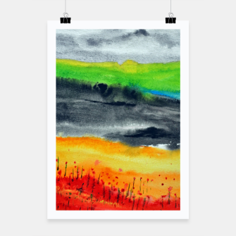 Thumbnail image of Landscape Poster, Live Heroes