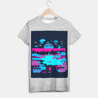Miniatur The Great Happy Outdoors T-shirt regular, Live Heroes