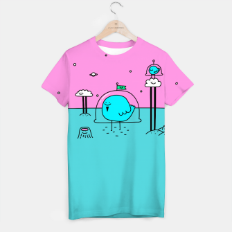 Thumbnail image of Happy Space Bird T-shirt, Live Heroes