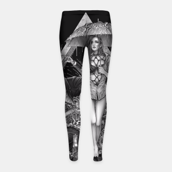 Thumbnail image of Winya No. 114 Girl's Leggings, Live Heroes