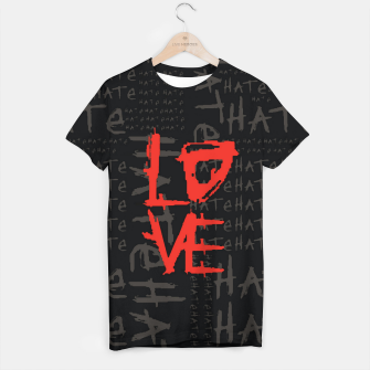 Thumbnail image of hate & love Camiseta, Live Heroes