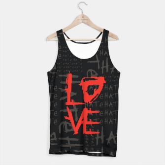 Thumbnail image of hate & love Camiseta de tirantes, Live Heroes