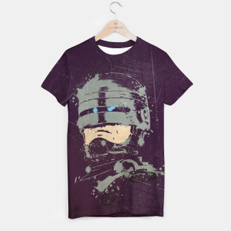 Thumbnail image of police force Camiseta, Live Heroes