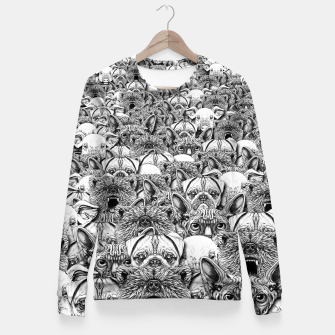Thumbnail image of Animal Crowd Fitted Waist Sweater, Live Heroes
