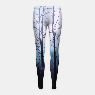Thumbnail image of Woods of Truth Girl's Leggings, Live Heroes