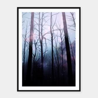 Thumbnail image of Woods of Truth Framed poster, Live Heroes