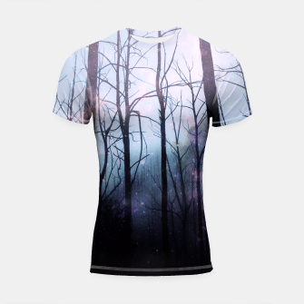 Thumbnail image of Woods of Truth Shortsleeve Rashguard, Live Heroes