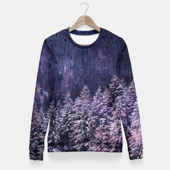 Thumbnail image of Winter is coming Fitted Waist Sweater, Live Heroes