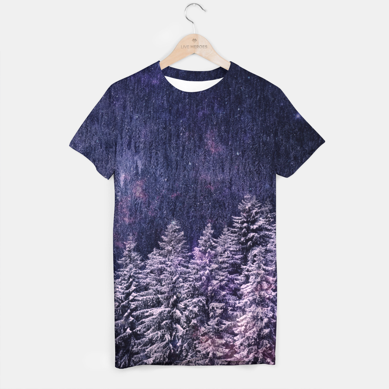 Image of Winter is coming T-shirt - Live Heroes