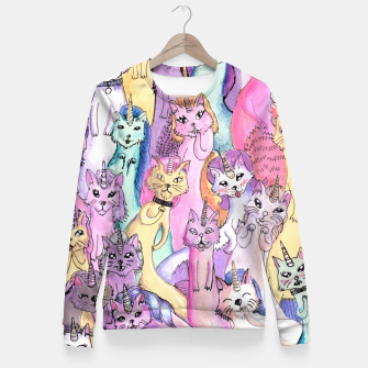 Thumbnail image of unicat squad Fitted Waist Sweater, Live Heroes