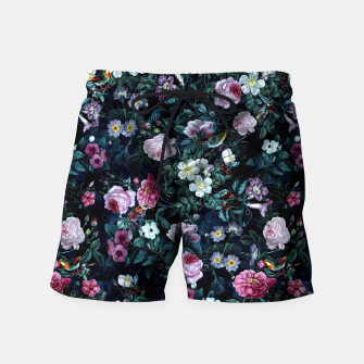 Thumbnail image of Blue Night Swim Shorts, Live Heroes