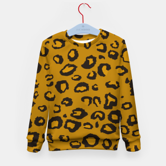 Thumbnail image of Golden Leopard Kid's Sweater, Live Heroes