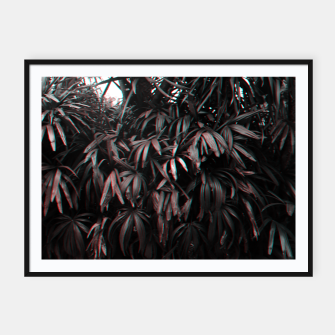 Thumbnail image of Red Plants Framed poster, Live Heroes