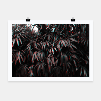 Thumbnail image of Red Plants Poster, Live Heroes