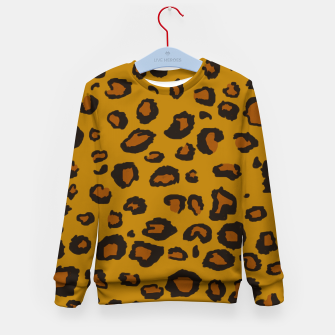 Thumbnail image of Leopard Kid's Sweater, Live Heroes