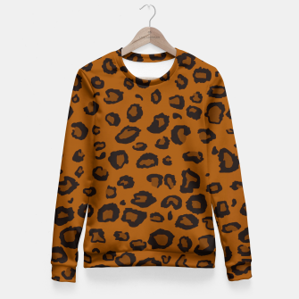 Thumbnail image of Dark Leopard Fitted Waist Sweater, Live Heroes
