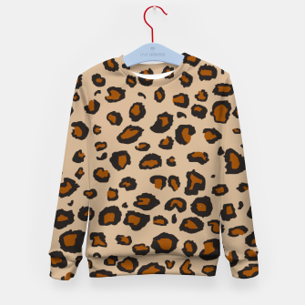 Thumbnail image of Leopard Print Kid's Sweater, Live Heroes