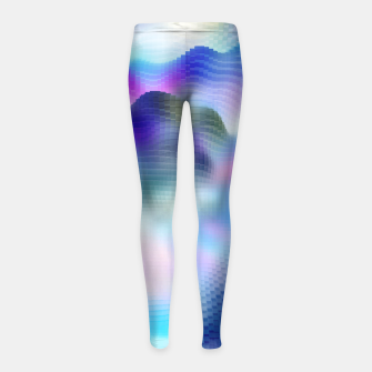 Thumbnail image of Clouds Of Magic Girl's Leggings, Live Heroes