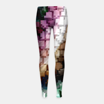 Thumbnail image of Cube Centric Dark Wind Girl's Leggings, Live Heroes