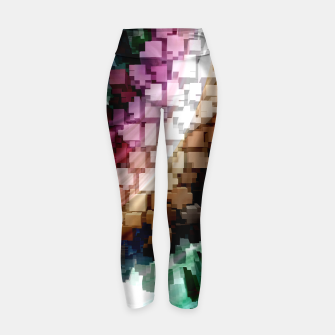 Thumbnail image of Cube Centric Dark Wind Yoga Pants, Live Heroes