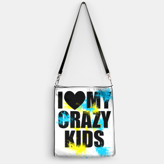 Thumbnail image of I love my crazy kids Sac à main, Live Heroes