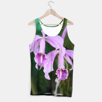 Thumbnail image of Tropical Flowers Orchids Tank Top, Live Heroes