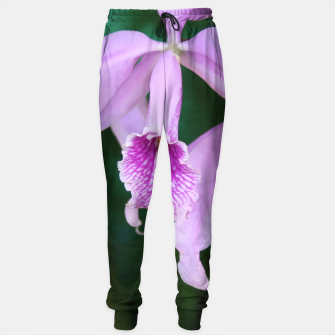 Thumbnail image of Tropical Flowers Orchids Sweatpants, Live Heroes
