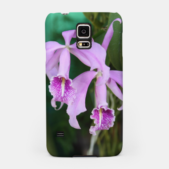 Thumbnail image of Tropical Flowers Orchids Samsung Case, Live Heroes