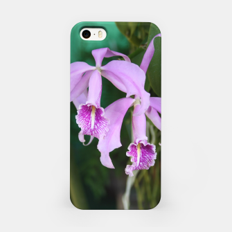 Thumbnail image of Tropical Flowers Orchids iPhone Case, Live Heroes