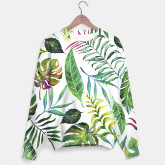 Thumbnail image of Tropical Flora  Sweater, Live Heroes