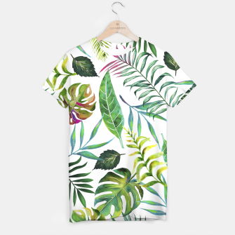 Thumbnail image of Tropical Flora  T-shirt, Live Heroes