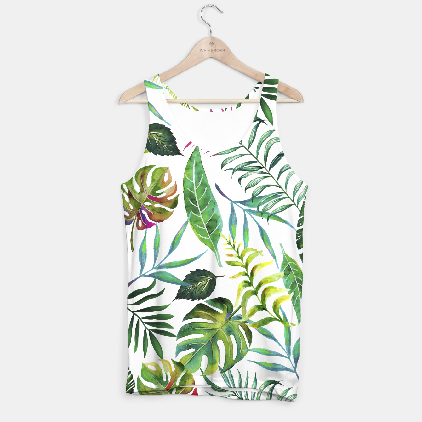Image of Tropical Flora Tank Top - Live Heroes