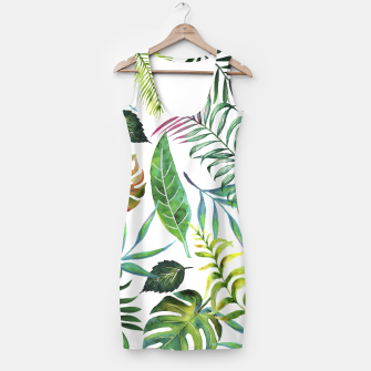 Thumbnail image of Tropical Flora  Simple Dress, Live Heroes
