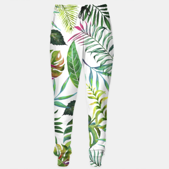 Thumbnail image of Tropical Flora  Sweatpants, Live Heroes