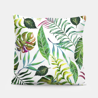 Thumbnail image of Tropical Flora Pillow, Live Heroes