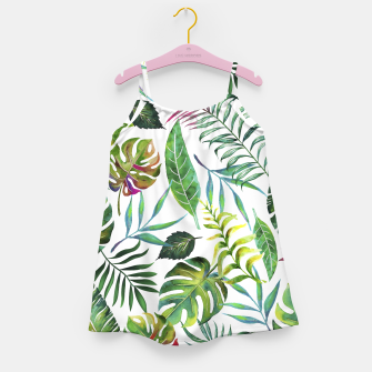 Thumbnail image of Tropical Flora Girl's Dress, Live Heroes
