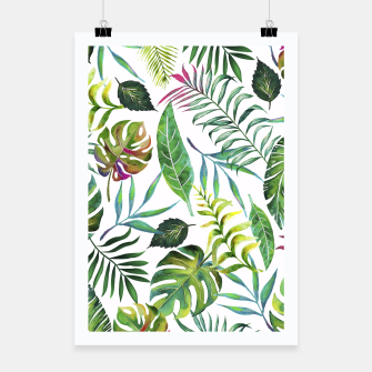 Thumbnail image of Tropical Flora Poster, Live Heroes