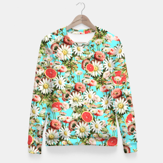 Thumbnail image of Botanical Garden Fitted Waist Sweater, Live Heroes