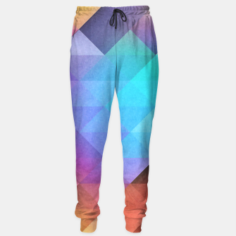 Thumbnail image of Pattern 12 Sweatpants, Live Heroes